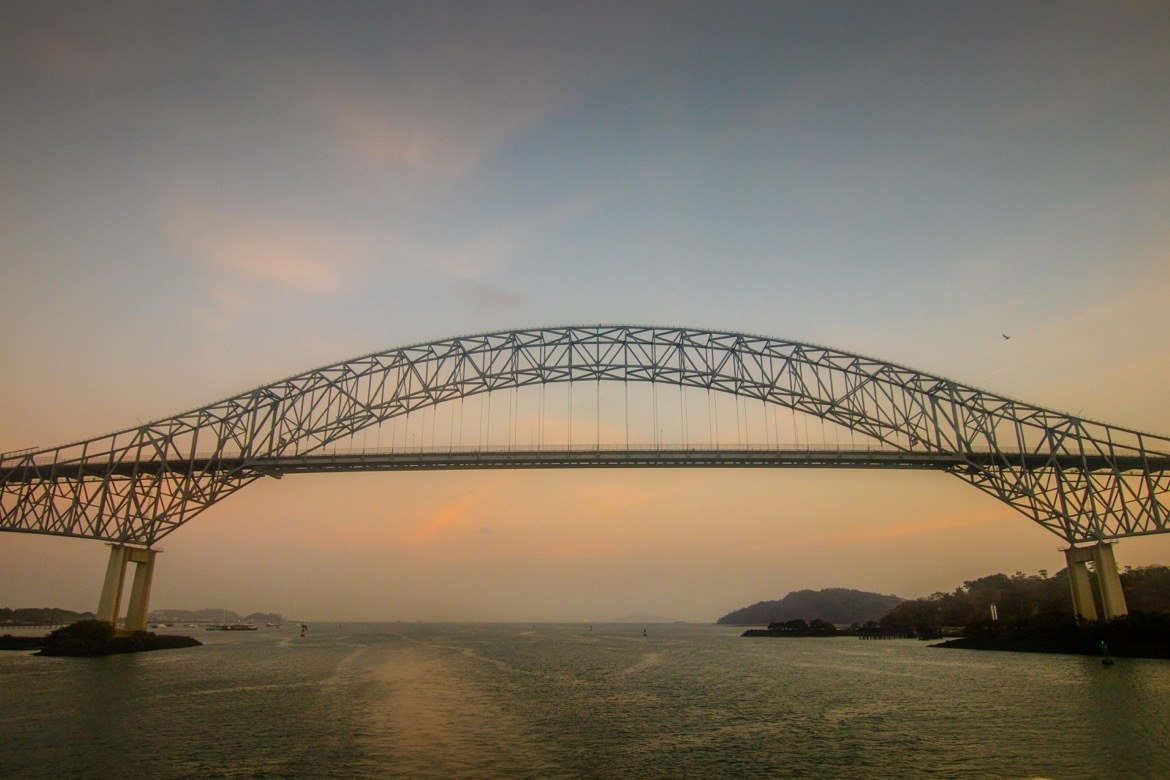 The Bridge of the Americas is a great photography spot in Panama City