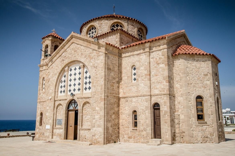 The church in Agios Georgios, Cyprus