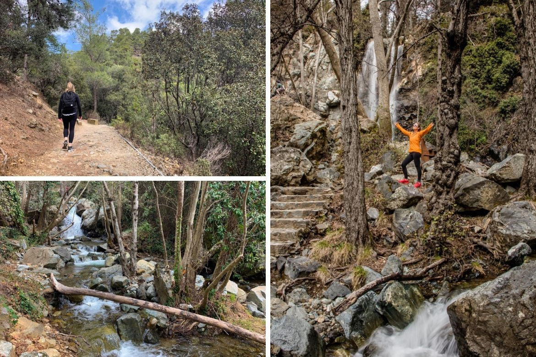 The Caledonia waterfall in Cyprus