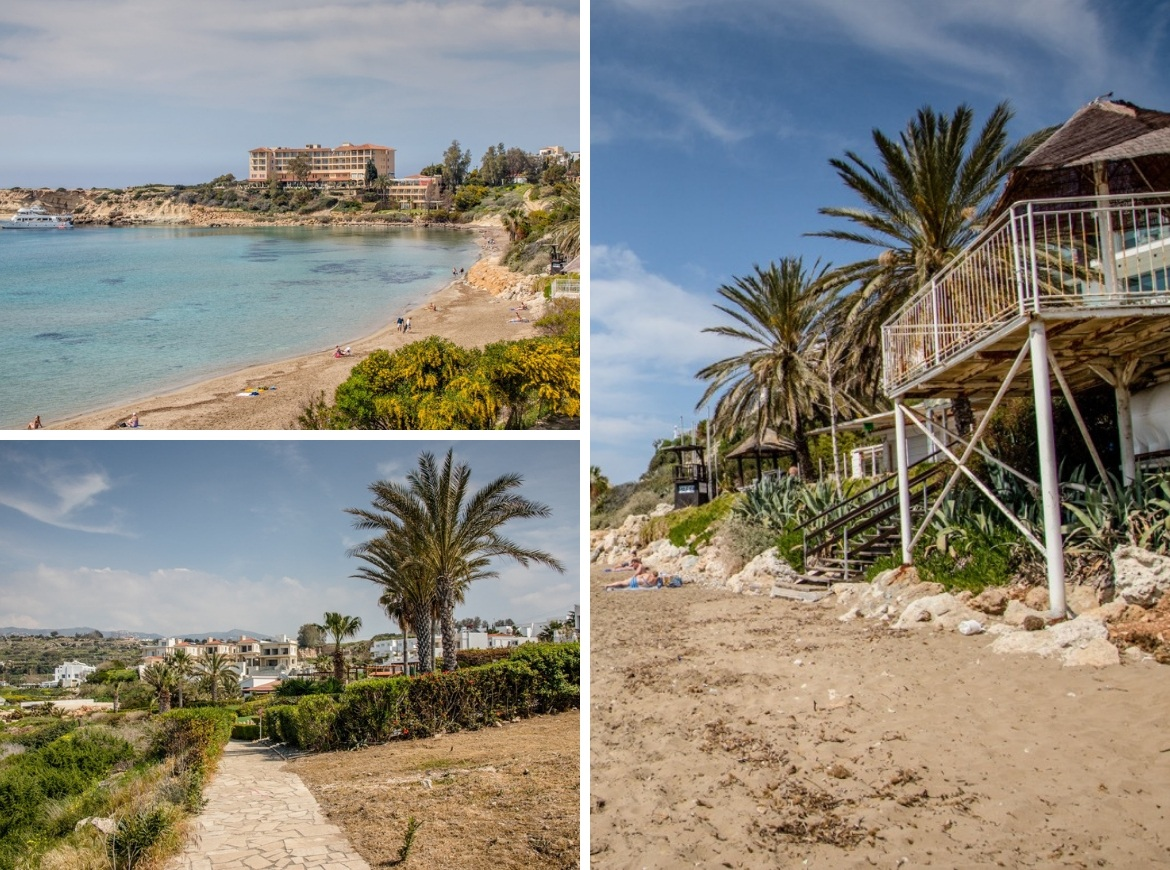 Coral Bay is one of the best things to do in Cyprus