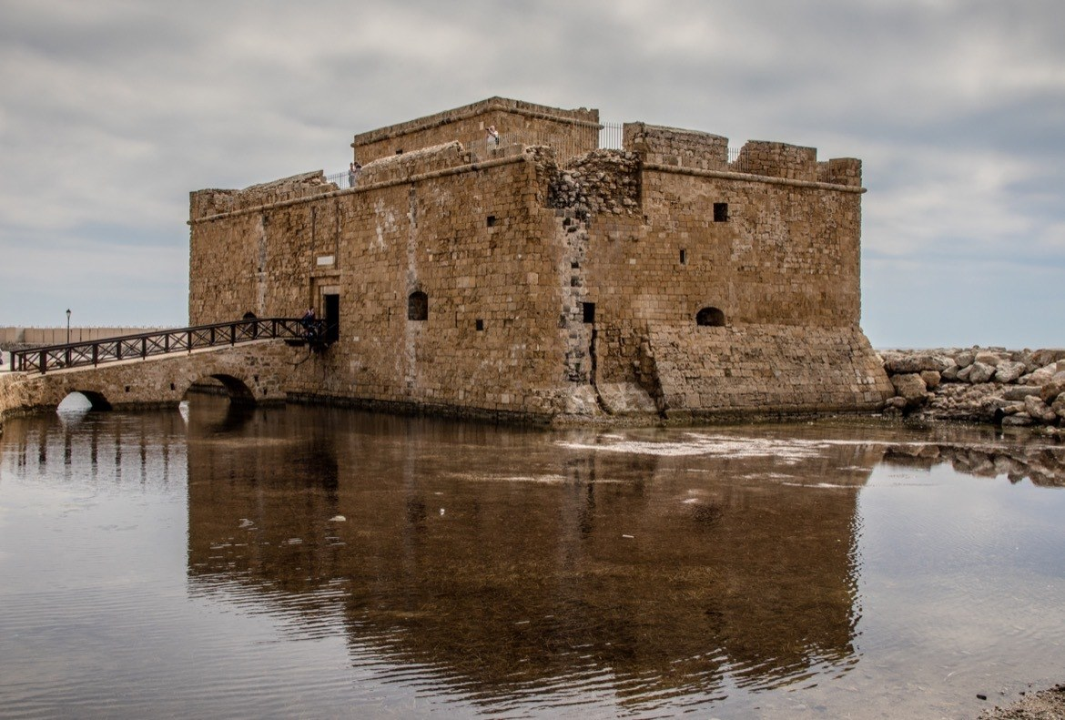 Visiting Paphos Castle is one of the best things to do in Paphos, Cyprus