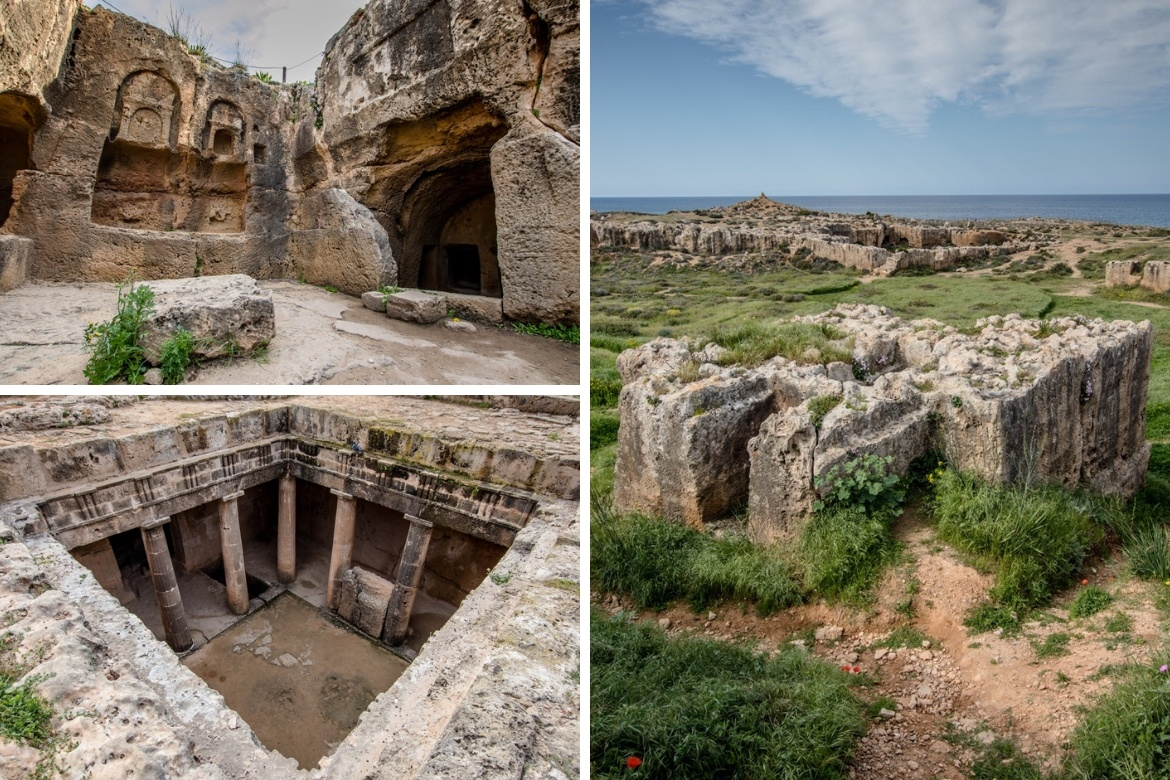 Visiting the Tombs of the Kings is one of the best things to do in Paphos, Cyprus