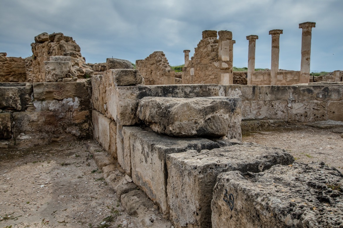 Visiting the Kato Paphos Archaeological Park is one of the best things to do in Paphos, Cyprus
