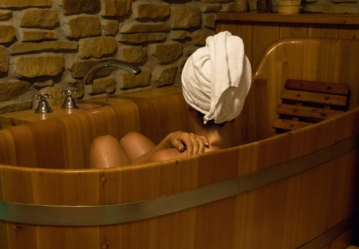 A beer spa in the Czech Republic