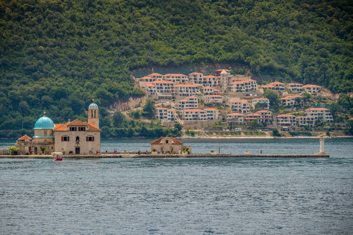Our Lady of the Rocks in Kotor, Montenegro