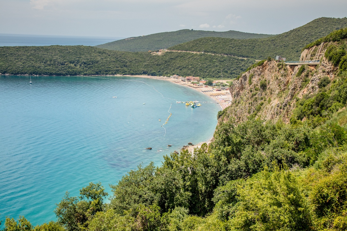 A day trip to Budva is one of the best things to do in Kotor, Montenegro