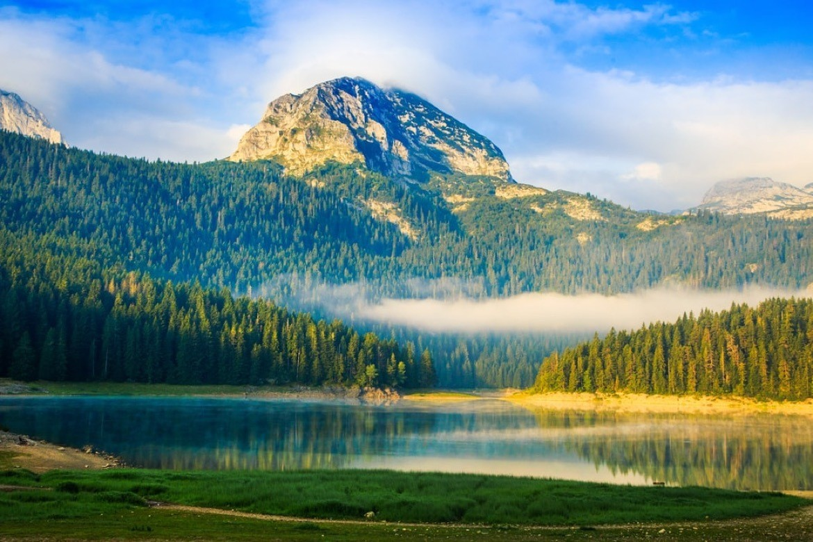 Durmitor National Park is most beautiful places to visit on a Montenegro road trip