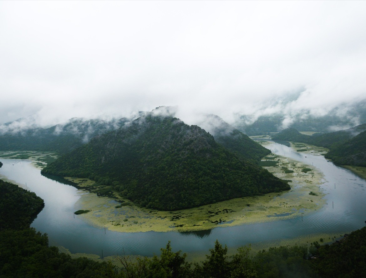 Skadar Lake is one of he most beautiful places to visit on a Montenegro road trip