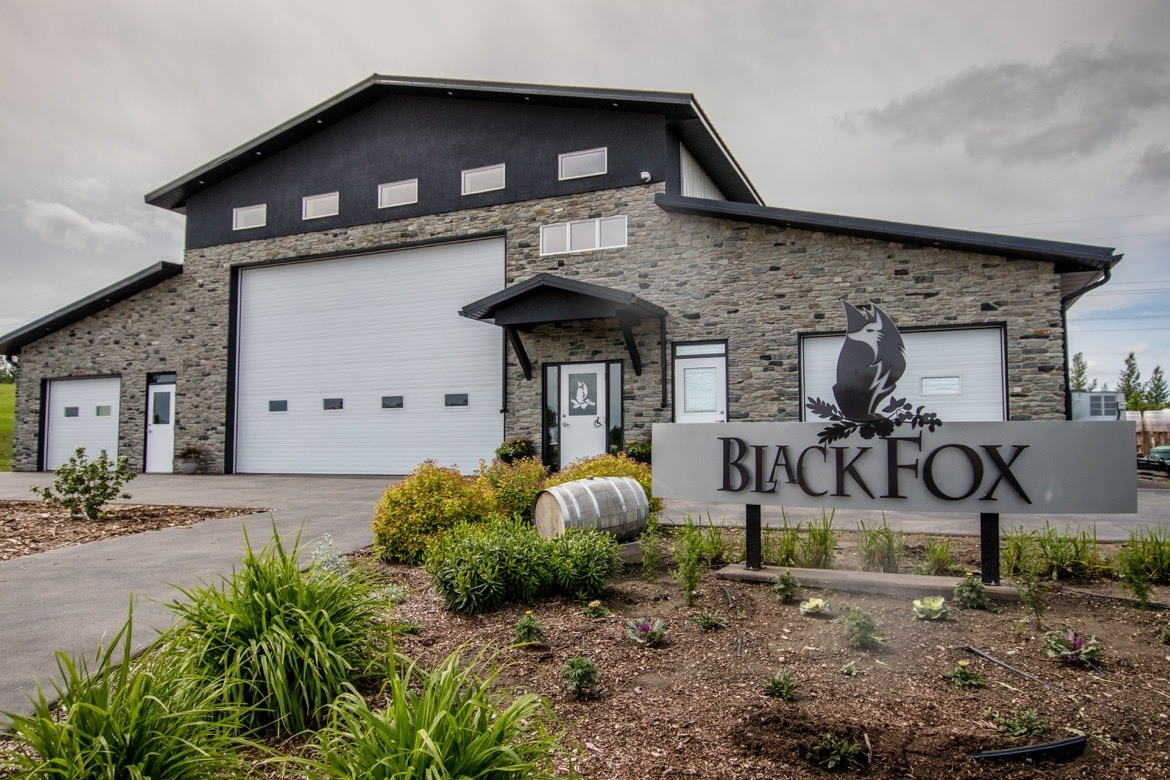 Black Fox Distillery in Saskatoon, Canada