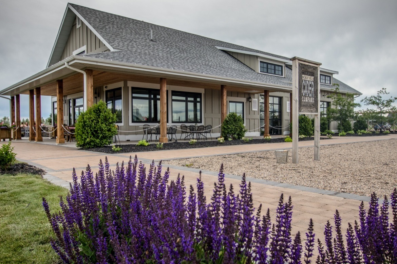 Crossmount Cider Company near Saskatoon, Canada