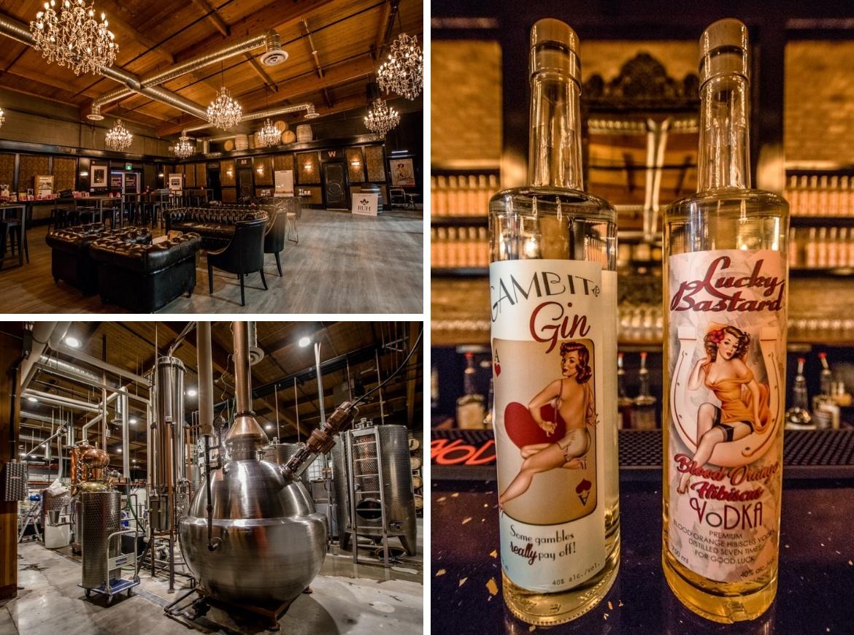 Lucky Bastard Distillery in Saskatoon, Canada