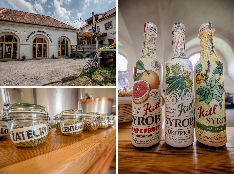 The brewery in Malešov, Czech Republic