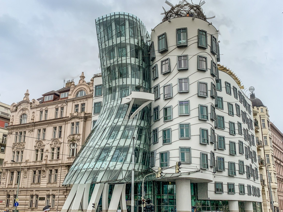 Visiting the Dancing House is one of the quirky and fun things to in Prague