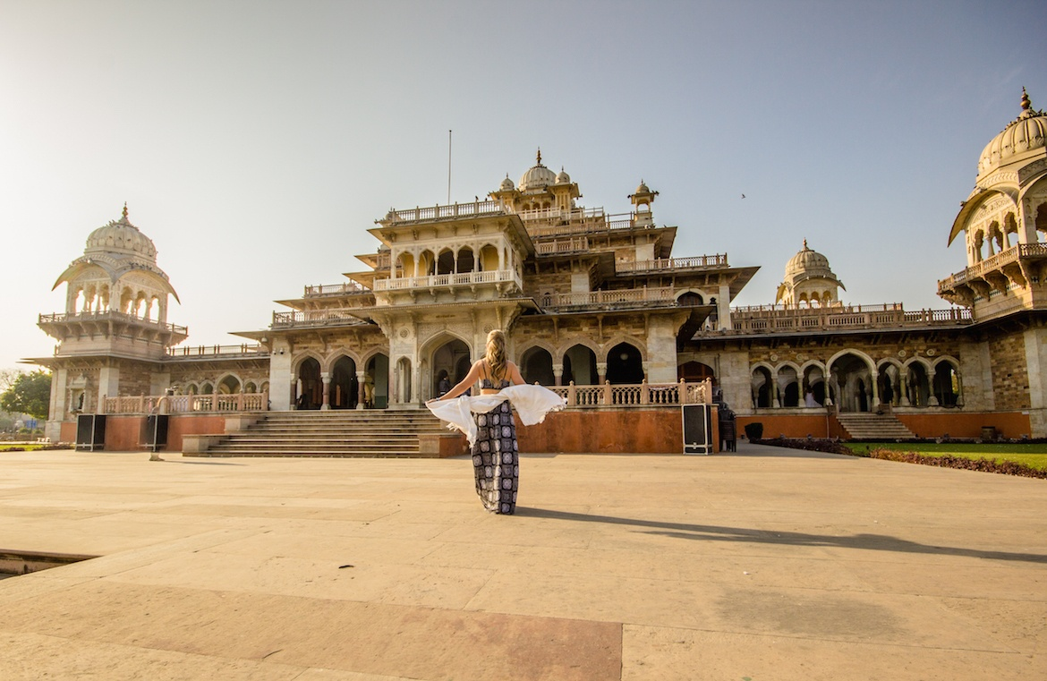 Albert Hall Museum is one of the best places to visit on a Jaipur itinerary