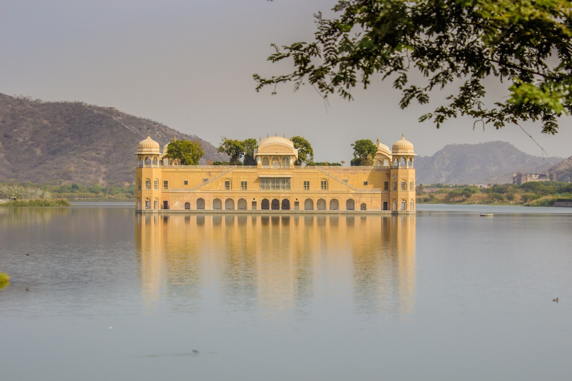 The Water Palace is one of the best places to visit on a Jaipur itinerary