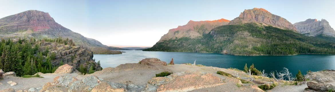 Sun Point, East Glacier National Park, Montana, USA