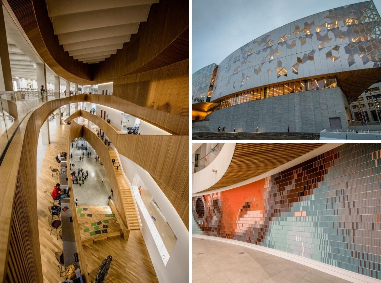 The Central Library in Calgary, Alberta, Canada