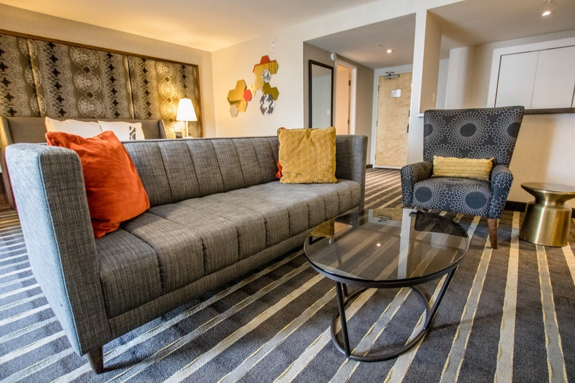 A Luxury Suite at Hotel Arts Calgary