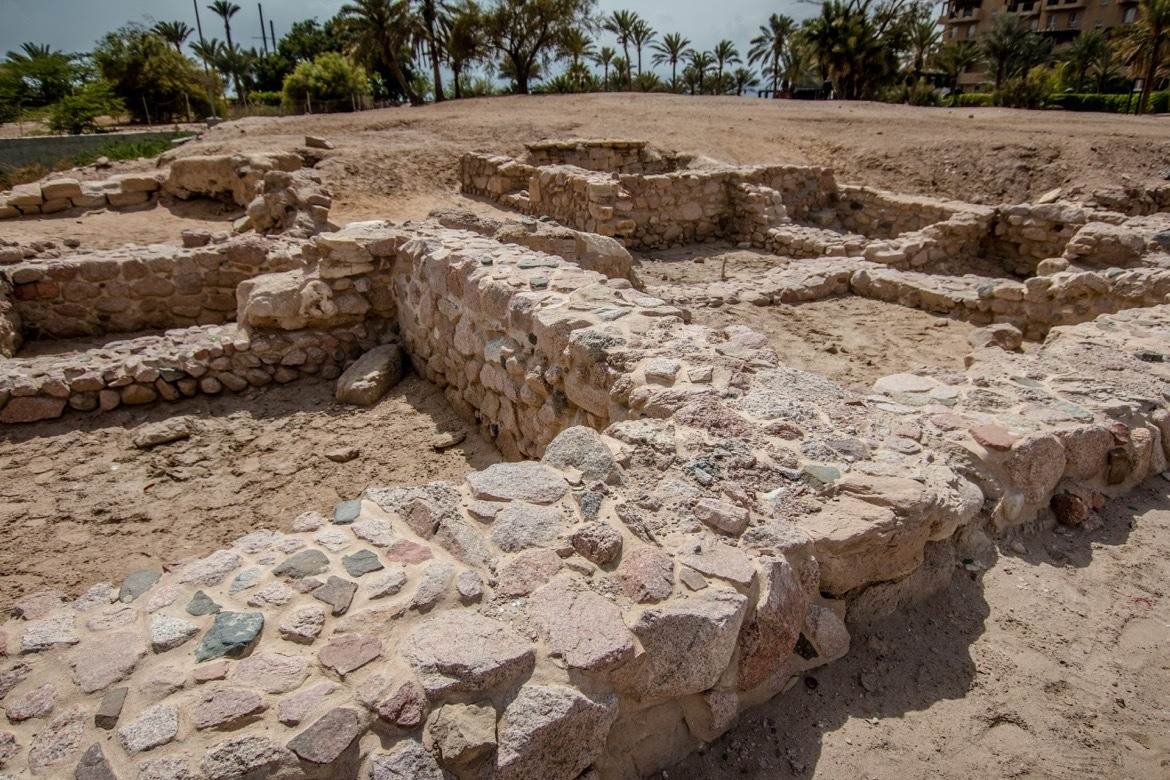 The ruins of Ayla in Aqaba, Jordan