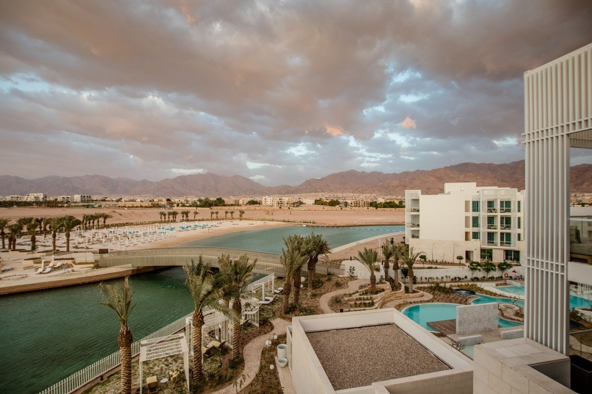The Hyatt in Aqaba, Jordan
