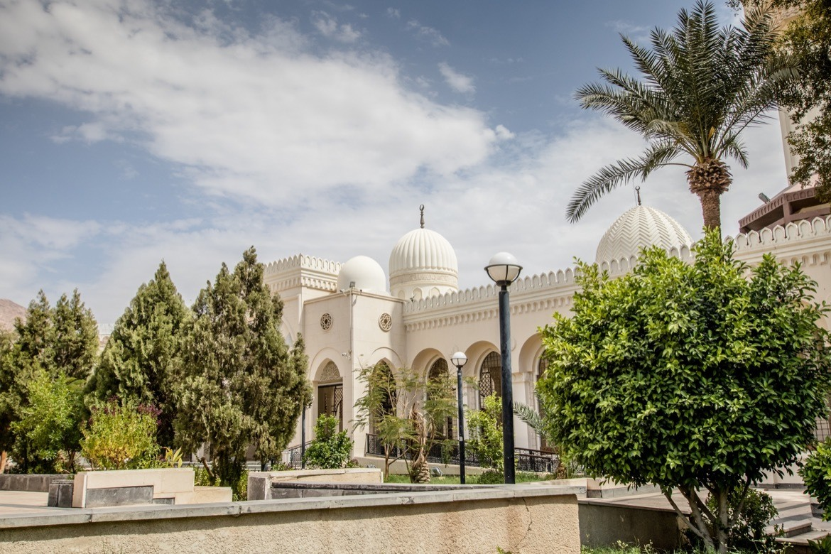 Visiting the mosque is one of the best things to do in Aqaba, Jordan
