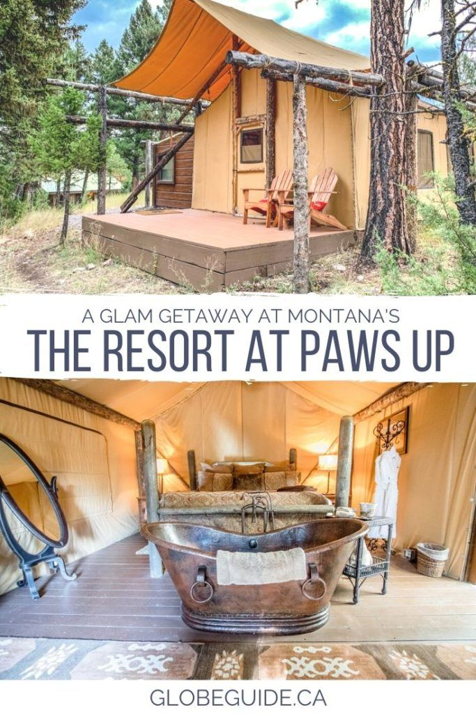 A glam getaway at the Resort at Paws Up