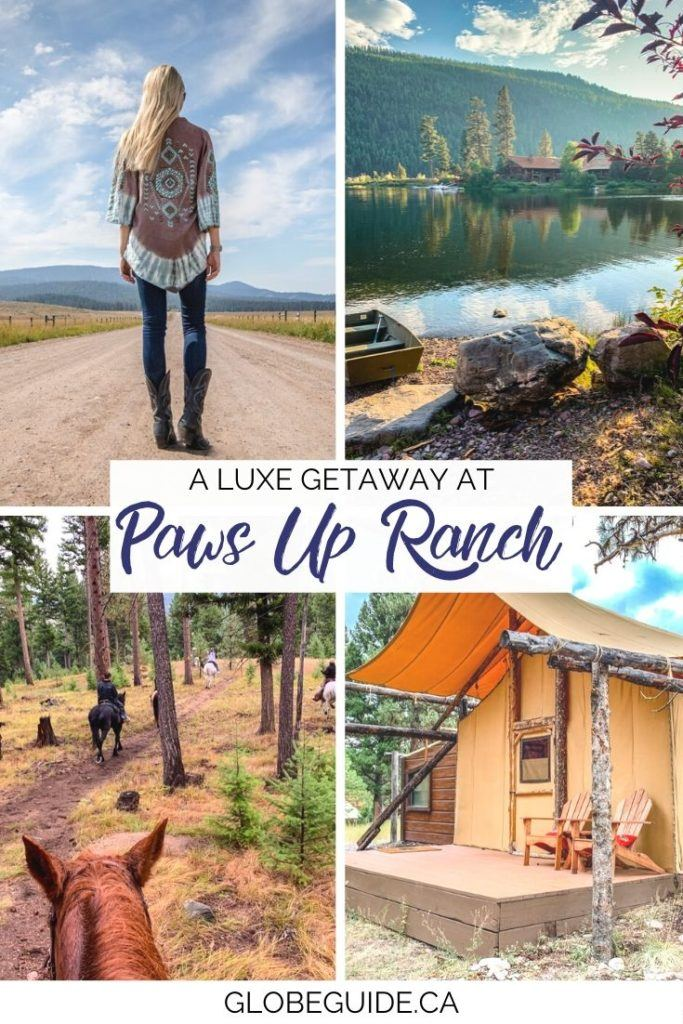 A glam getaway to Paws Up Ranch