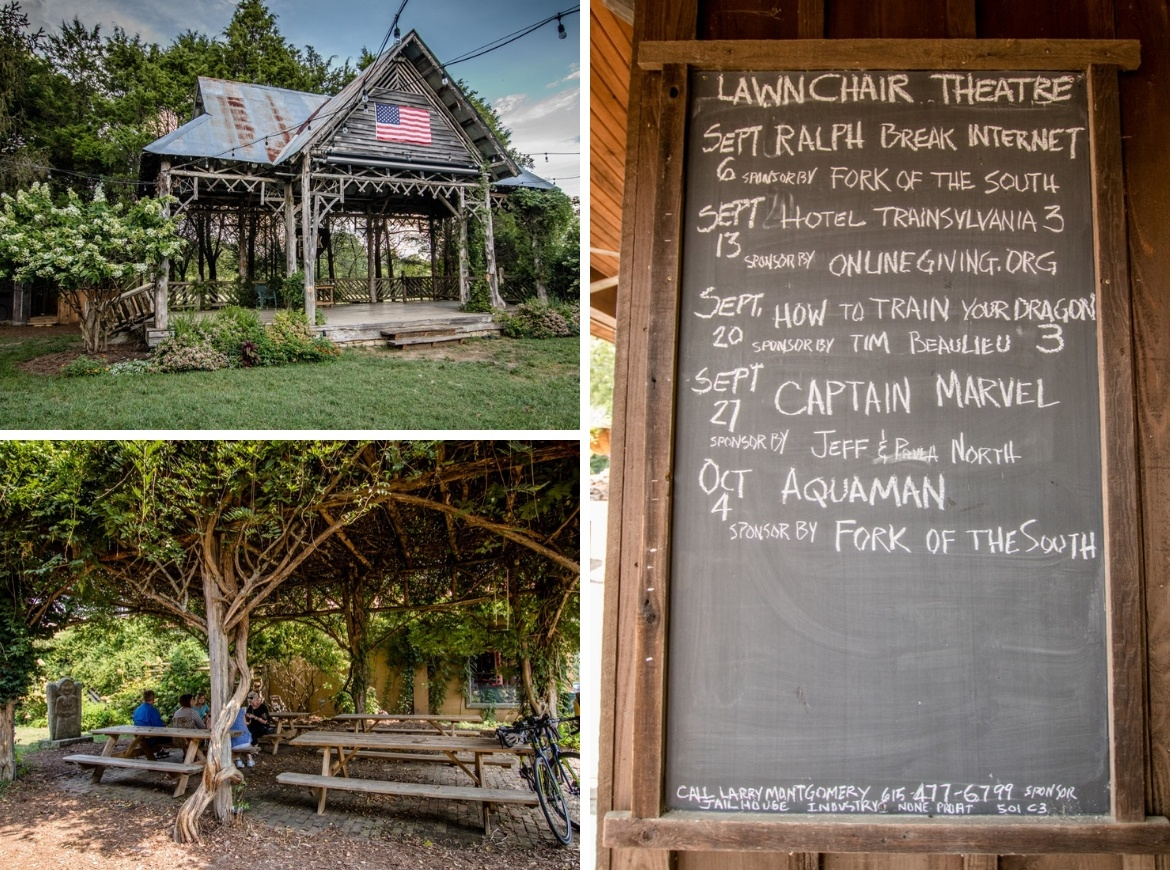 The Lawnchair Theatre is one of the best things to do in Leiper's Fork, TN