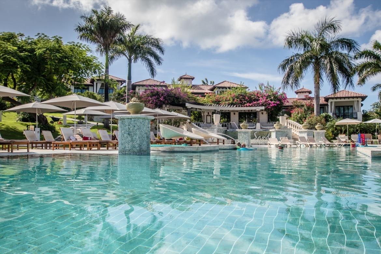 South Seas Main Pool at Sandals Grenada