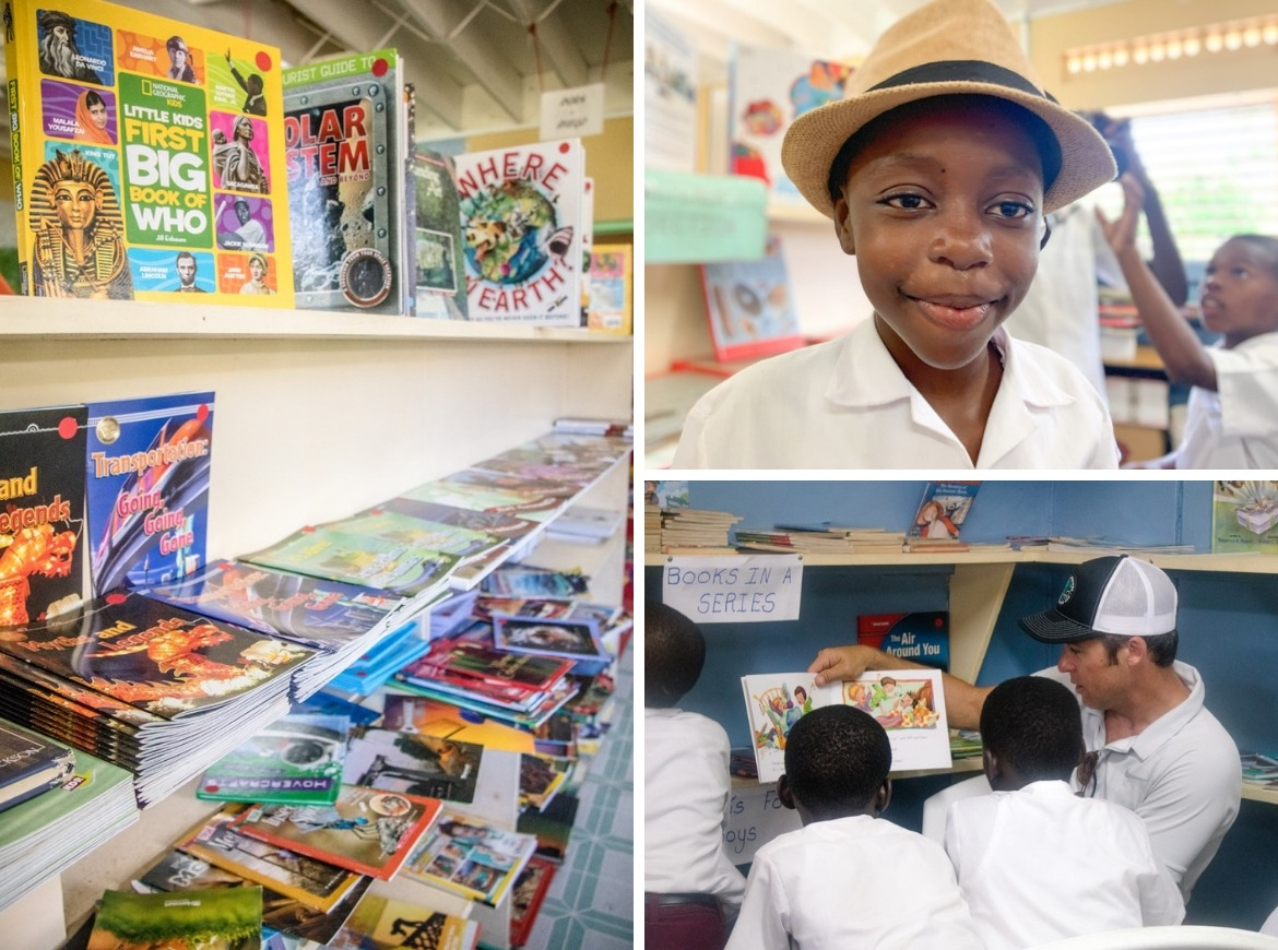 A reading road trip with the Sandals Foundation in Grenada