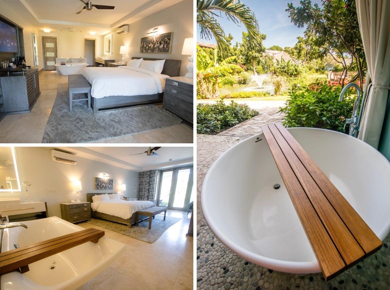 Lover's Hideaway rooms at Sandals Grenada