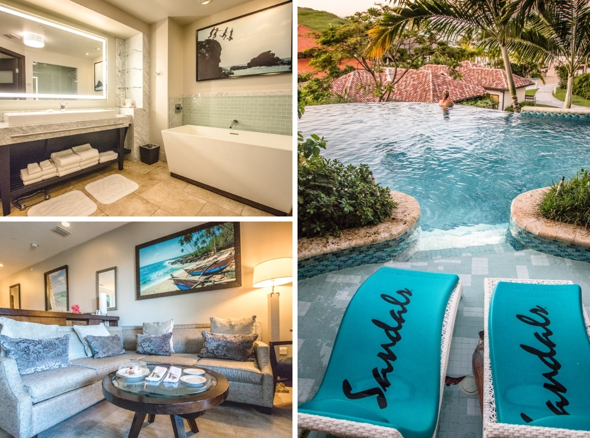 Italian Swim Up Butler Suites at Sandals Grenada