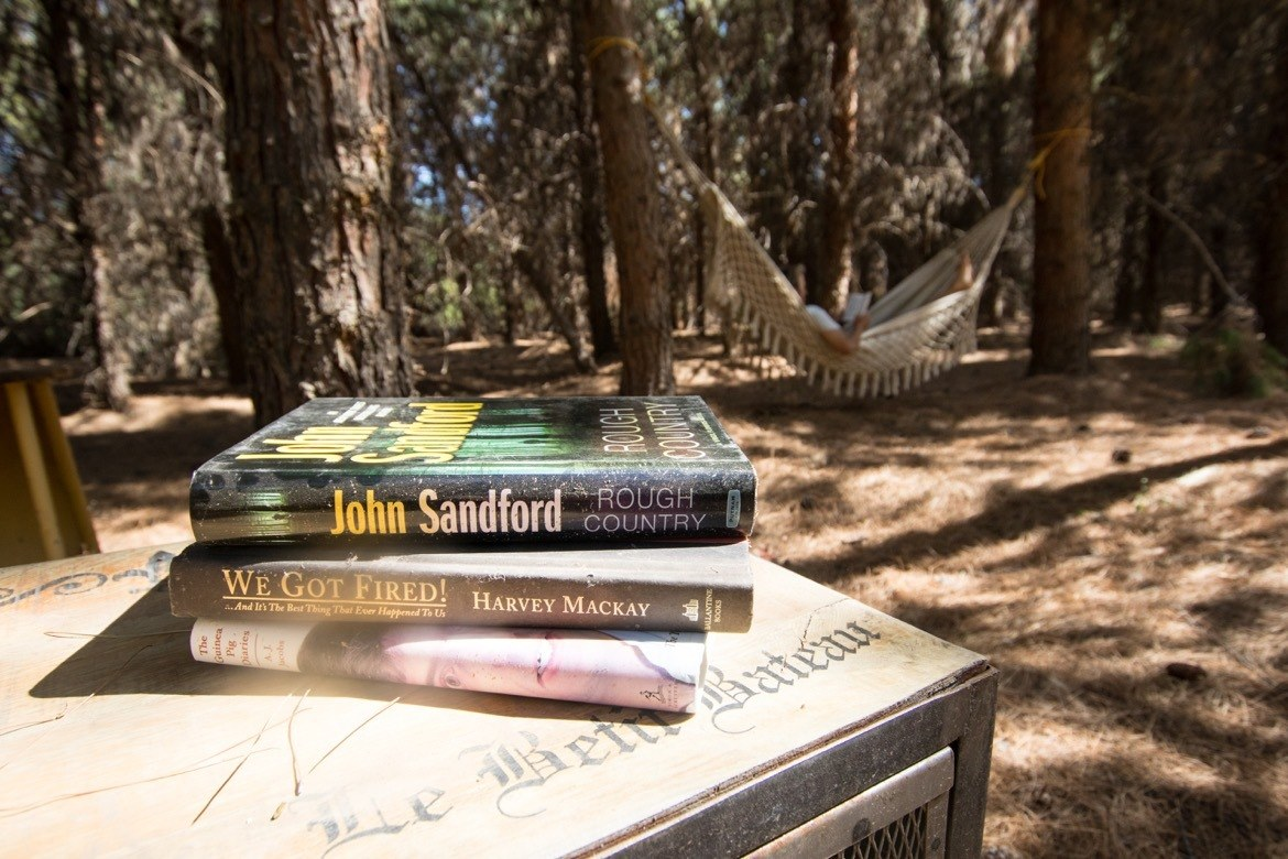 The Secret Library at Schnepf Farms in Arizona