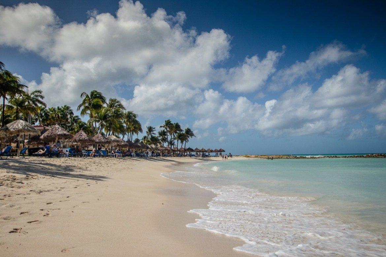 The beach at the Divi Aruba Phoenix