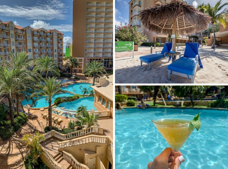 The pools at Divi Aruba Phoenix