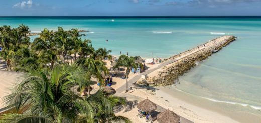 The view of the beach at the Divi Aruba Phoenix