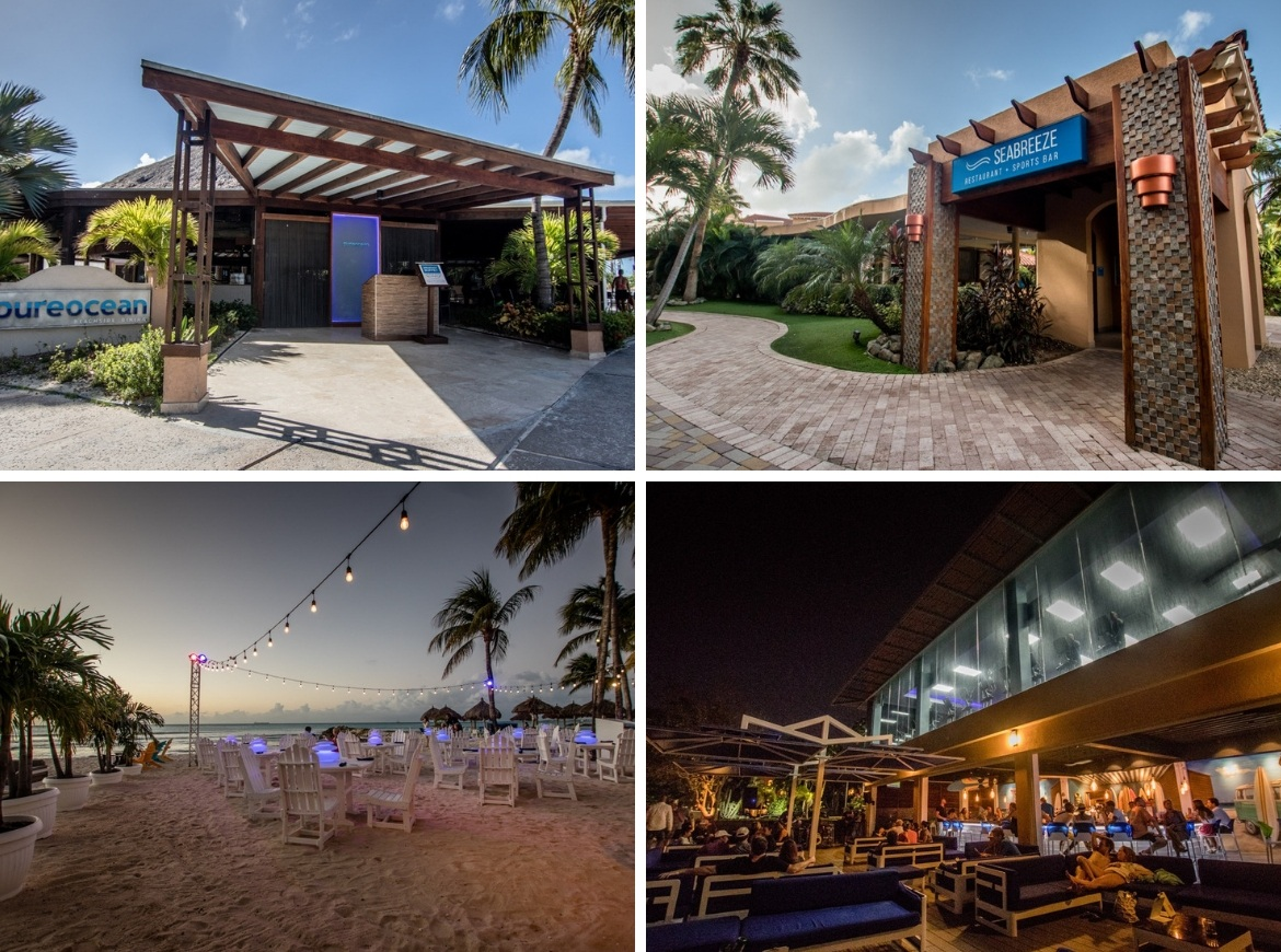 Dining at the Divi Resorts in Aruba