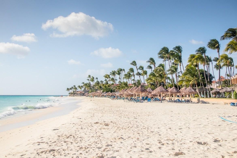 Druif Beach in Aruba