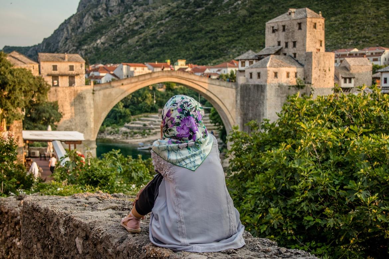 Stari Most in Mostar, Bosnia