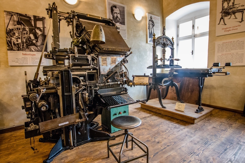 The Gutenberg Printing House in Kutna Hora, Czech Republic