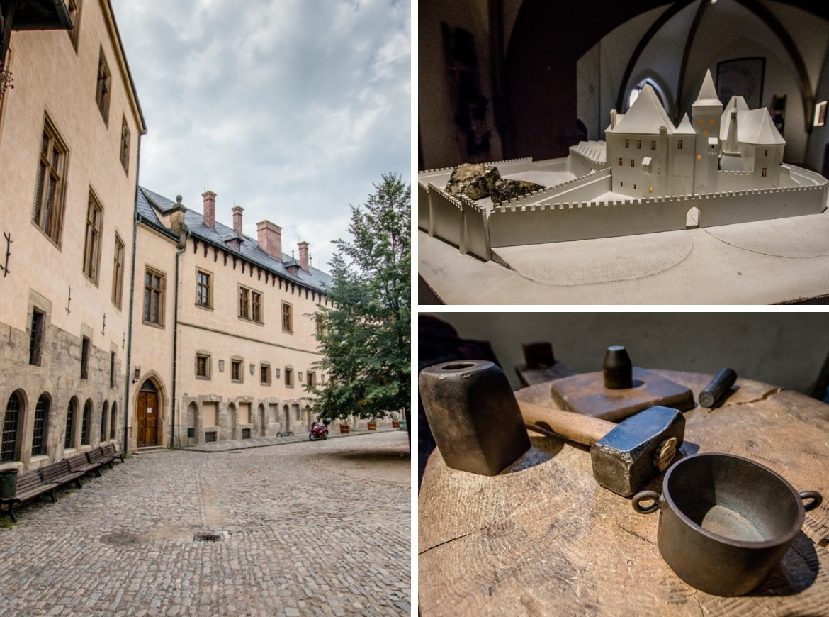 Stamping a silver coin at the Italian Court is one of the best things to do in Kutna Hora