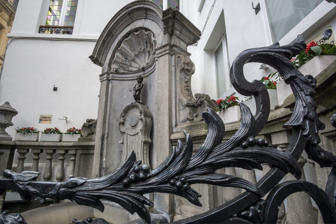 Manneken Pis is one of the top things to see in Brussels in one day