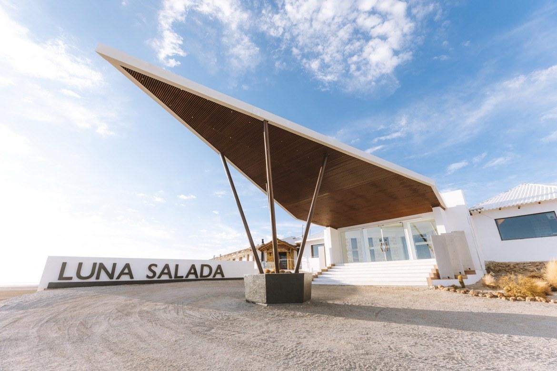 Salt hotel in Bolivia