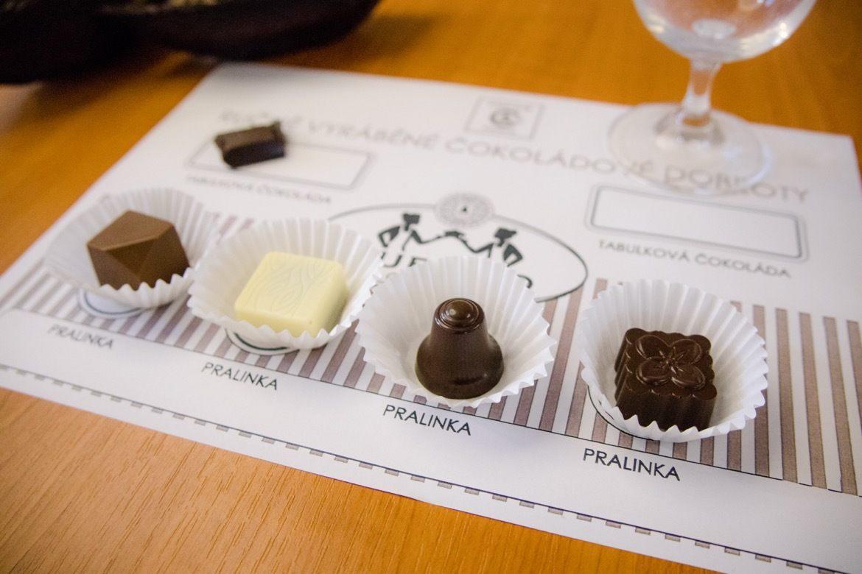 The Svachovka chocolaterie in Czech Republic