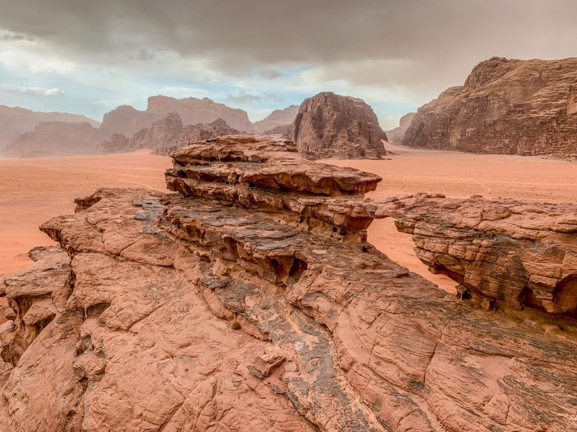 The Wadi Rum Desert is one of the best places to visit in Jordan
