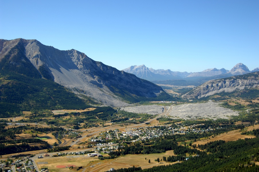 Frank Slide is one of the best day trips from Calgary