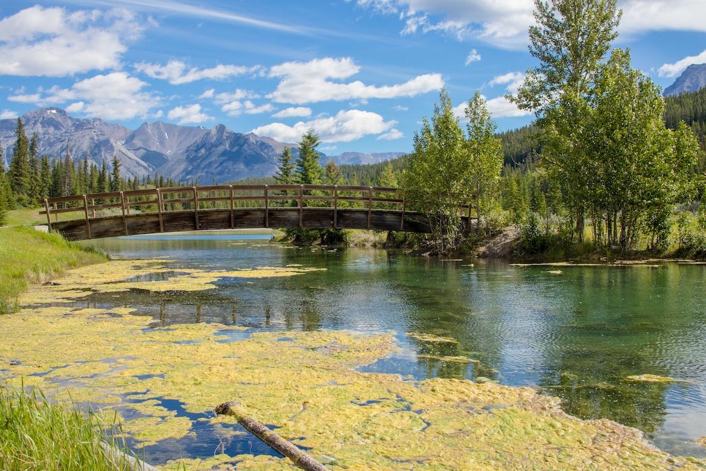 Cascade Ponds in Banff National Park