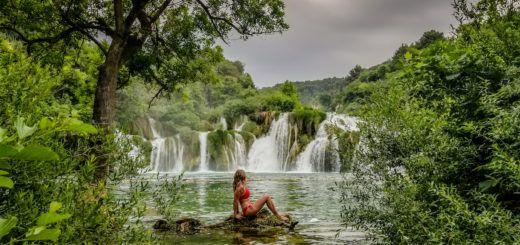 Krka National Park, Croatia waterfalls