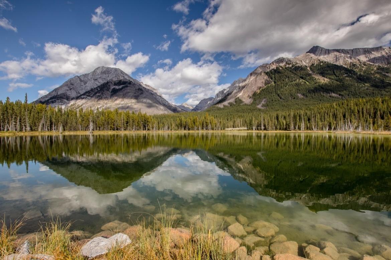 Buller Pond in Kananaskis, Alberta