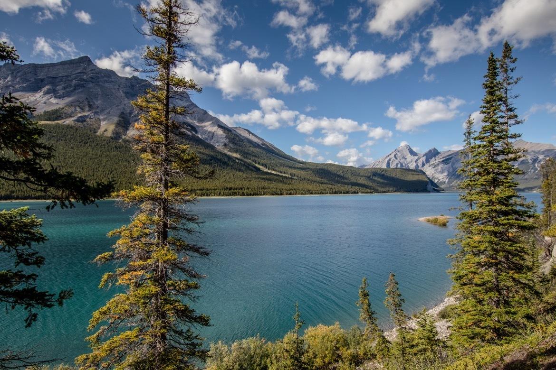 Spray Lakes in Kananaskis, Alberta